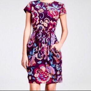 Nanette Lapore Floral Silk Dress
